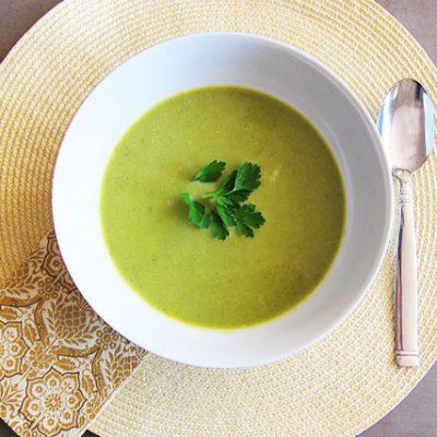 Creamy Asparagus Detox Soup