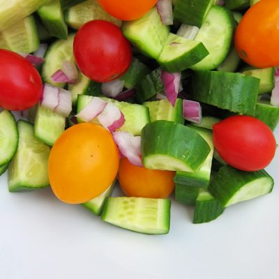 Easy Cucumber Salad, Paleo and vegan