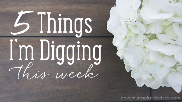 5 Things I'm Digging This Week