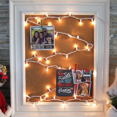 Easy DIY Christmas Card Holder