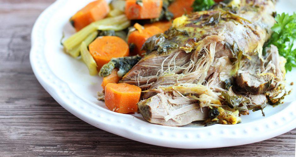 Slow Cooker Pork Tenderloin (Paleo, AIP)
