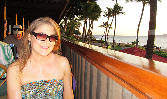 Maui, 2013, moon face