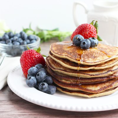 Perfect Paleo Pancakes (Nut-Free)