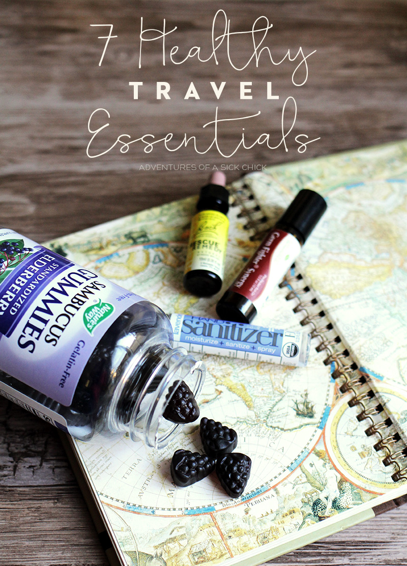 7 Healthy Travel Essentials