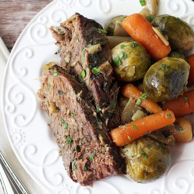 Slow Cooker Pot Roast (Paleo, AIP, Whole30)
