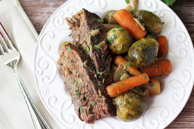 Easy Paleo Fall Recipes: Slow Cooker Pot Roast - Paleo, AIP, Whole30