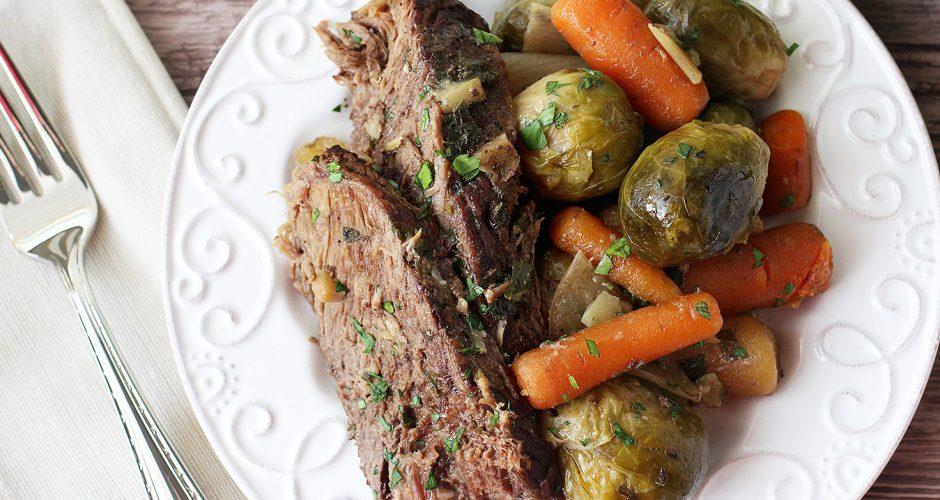 Slow Cooker Pot Roast (Paleo, AIP, Whole30)