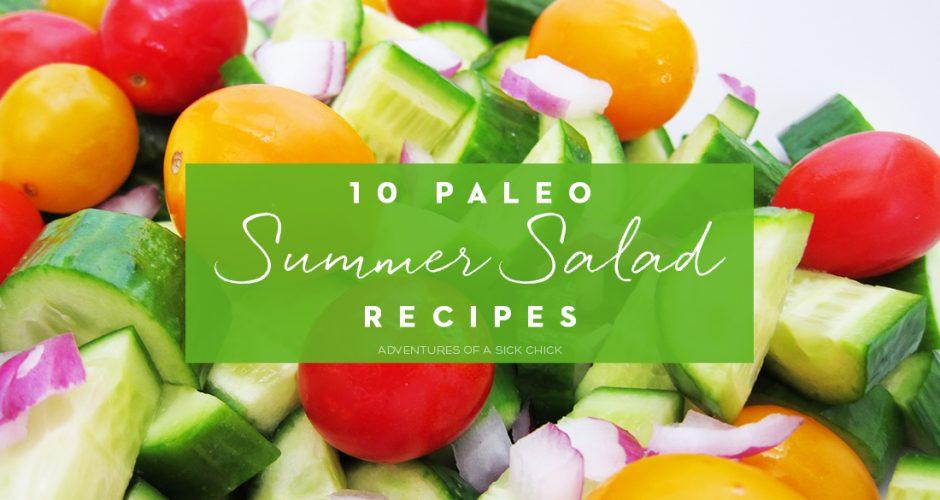 10 Paleo Summer Salad Recipes