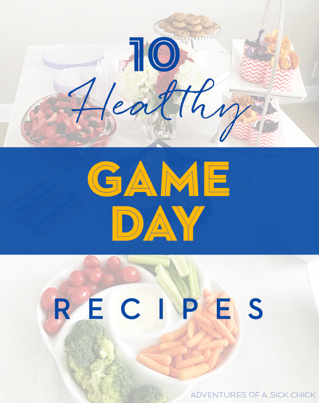 10 Healthy Game Day Recipes