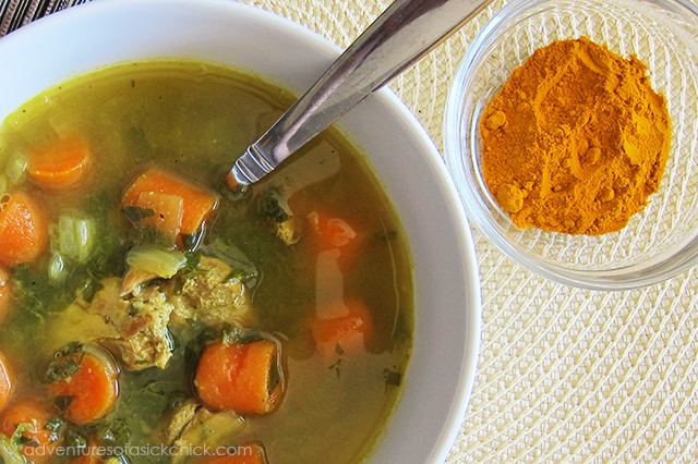 5 Things I'm Digging This Week, Turmeric Chicken Soup