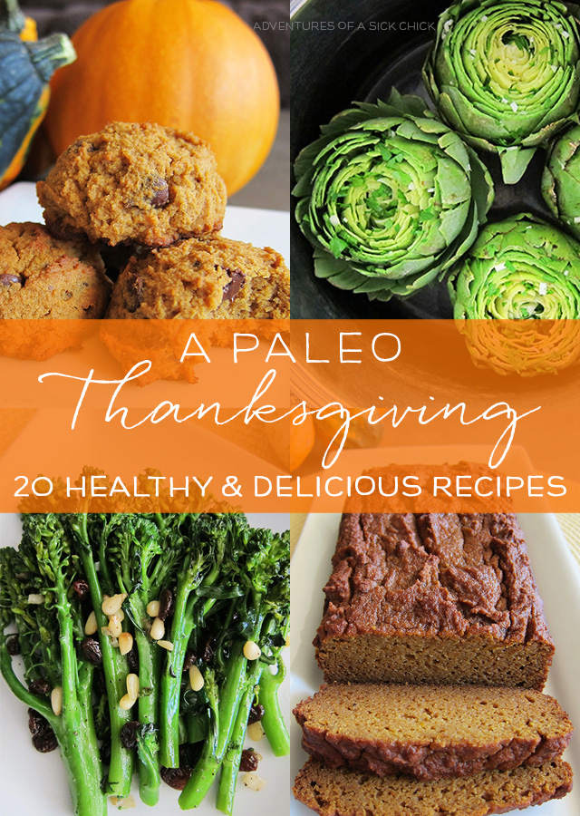 A Paleo Thanksgiving: 20 Healthy and Delicious Recipes