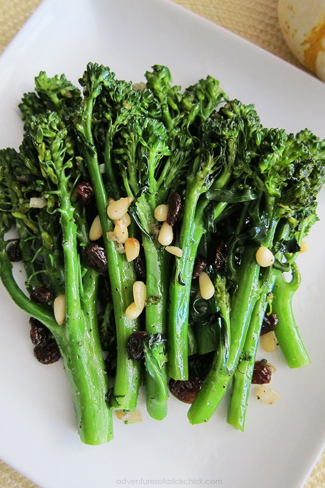 Sautéed Broccolini (Paleo, Vegan)