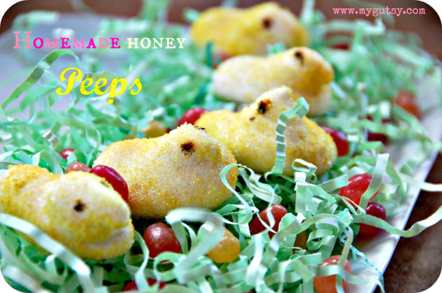 Healthier Easter Candy Alternatives, My Gutsy Homemade Honey Peeps