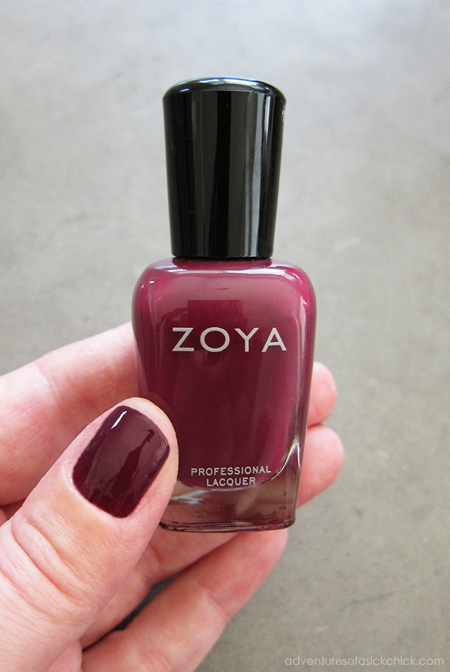 Natural Nail Polish: Zoya