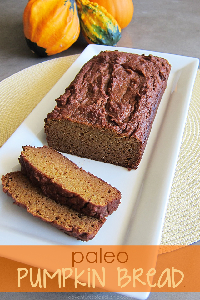Easy Paleo Fall Recipes: Paleo Pumpkin Bread (Nut-Free)