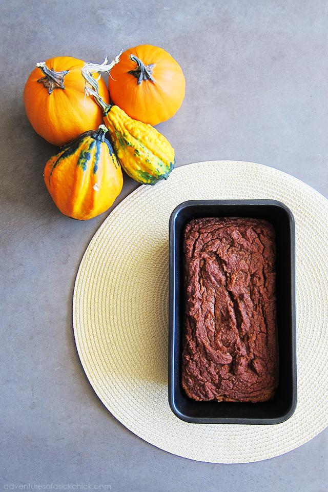 Paleo Pumpkin Bread (Nut-Free)