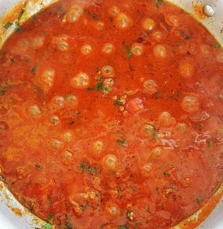 Quick and Simple Tomato Marinara Sauce