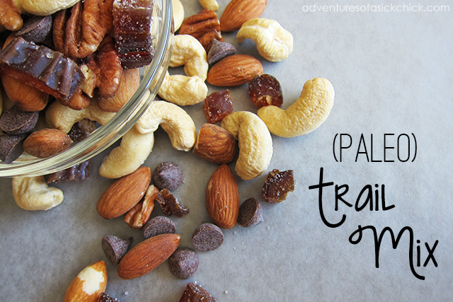 Easy Paleo Trail Mix