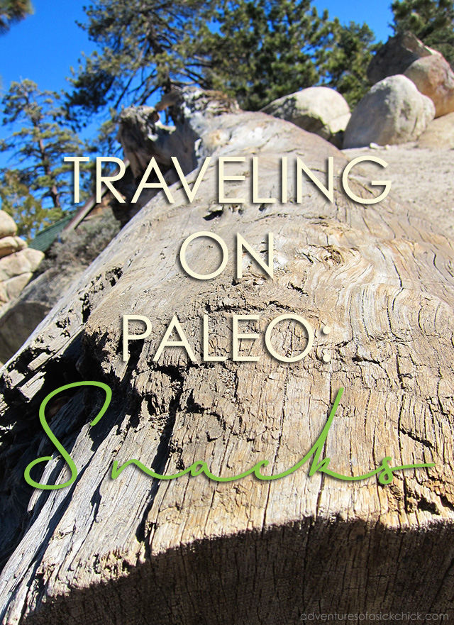 Traveling on Paleo: Snacks