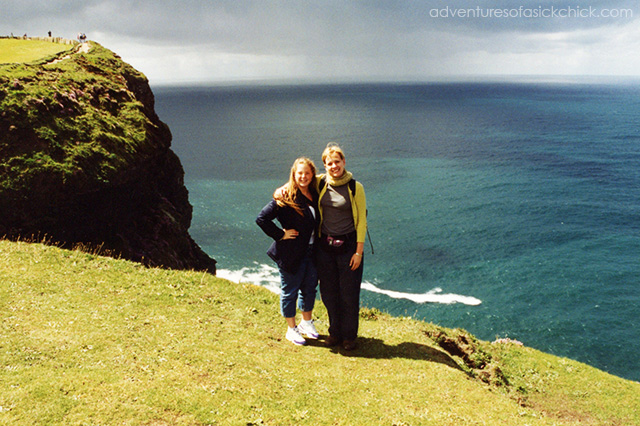 Vintage Vacation, Ireland, Cliffs of Moher