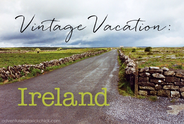Vintage Vacation, Ireland, Country Road