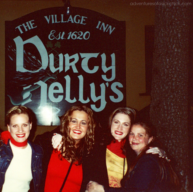 Vintage Vacation, Ireland, Durty Nelly's