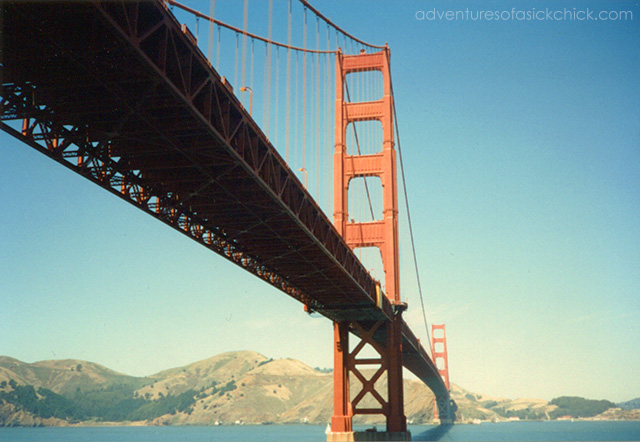 Vintage Vacation, Road Trip to San Francisco, Golden Gate Bridge