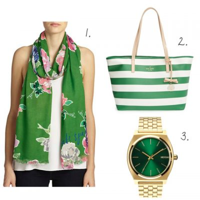 Wish List: Shades of Green
