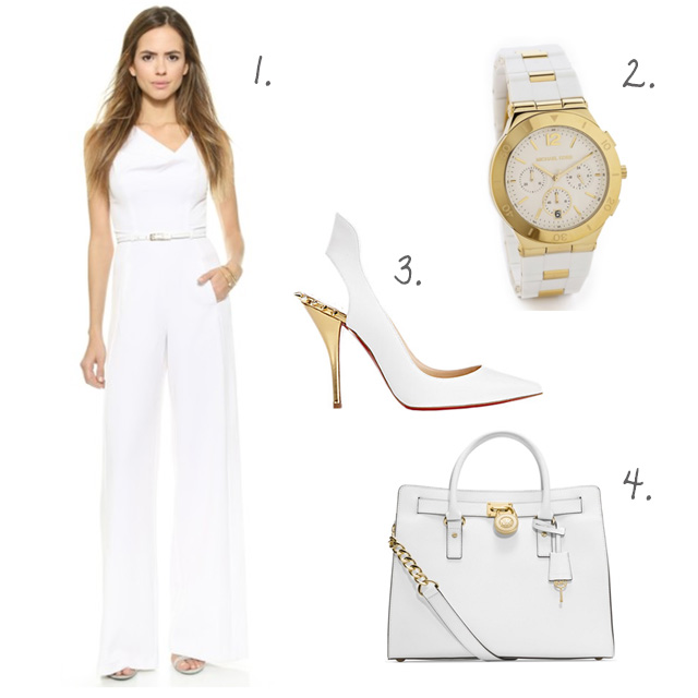 Wish List: White and Gold
