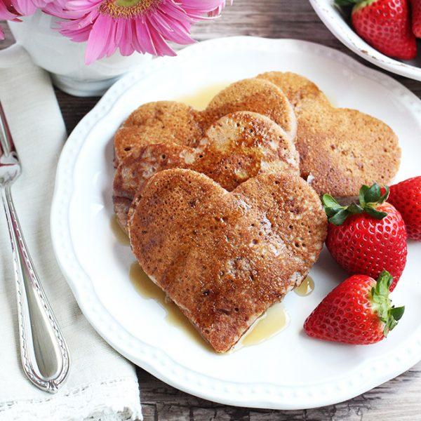 Paleo Strawberry Pancakes (with Cassava Flour)