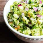 Cucumber Apple Salsa (Paleo, AIP, Vegan)