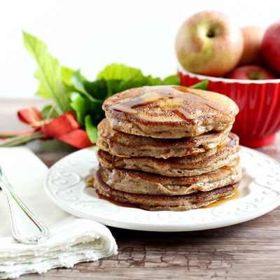 Paleo Cinnamon Apple Pancakes (with Cassava Flour)