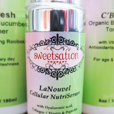 Organic Skincare by Sweetsation Therapy