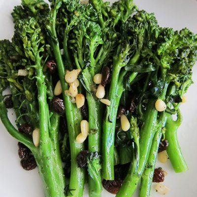 Sautéed Broccolini (Paleo, Whole30, Vegan)