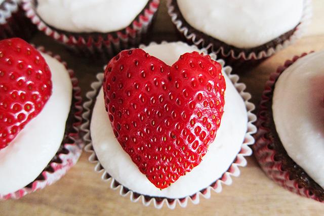 Cupcake Love, Valentine's Paleo Cupcakes