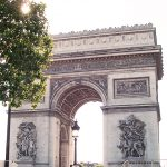 Vintage Vacation: Paris, Arc de Triomphe