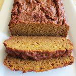 Paleo Pumpkin Bread, Nut-Free