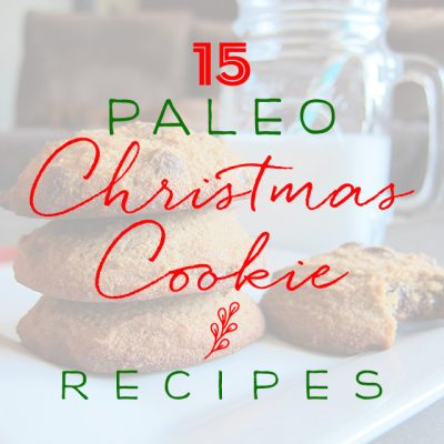 15 Paleo Christmas Cookie Recipes