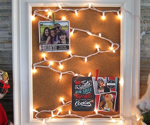 DIY Christmas Holiday Card Holder