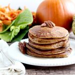 Paleo Pumpkin Pancakes (with Cassava Flour)