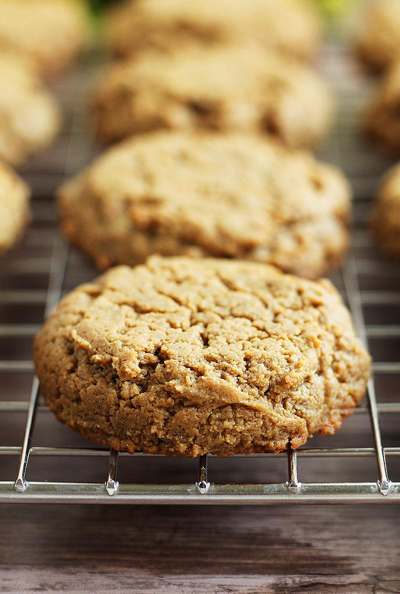 Sunbutter Cookies, Paleo, Vegan, and Allergen-Friendly - gluten-free, grain-free, nut-free, dairy-free, egg-free, coconut-free, refined sugar-free