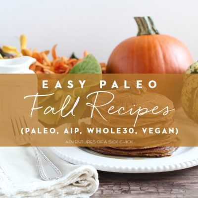 Easy Paleo Fall Recipes (AIP, Whole30, Vegan)